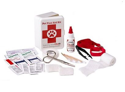 simple dog first aid kit